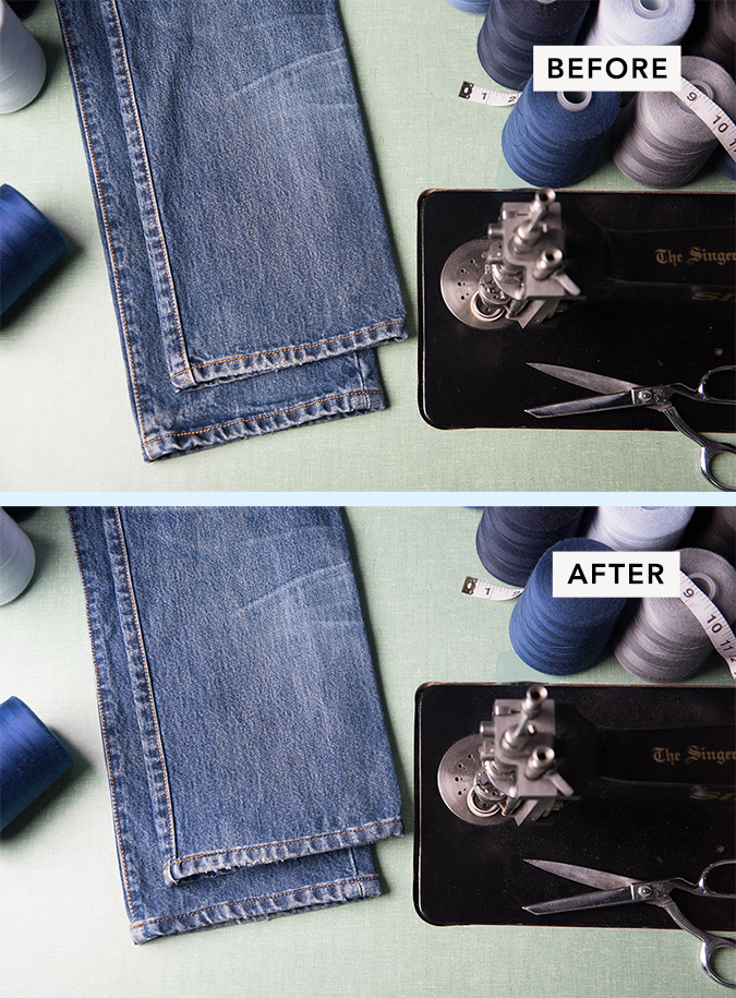 Denim Original Hemming Service