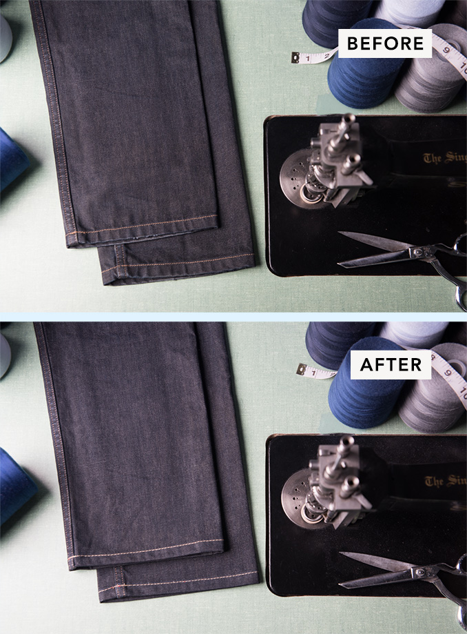 Jeans Regular Hemming Service
